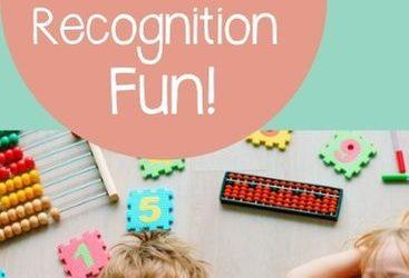 Let's Read: Preschool Number Recognition Activities