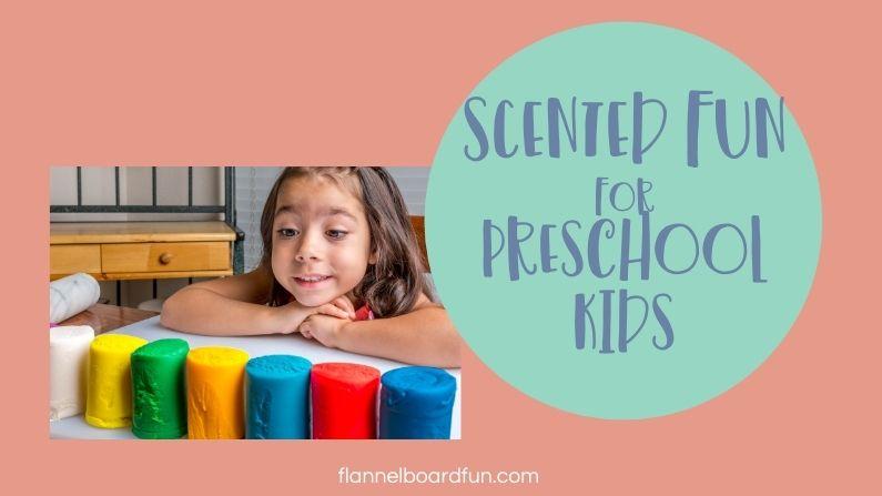preschooler smiling at playdough