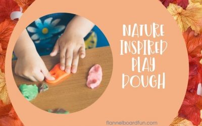 Nature Inspired Play Dough