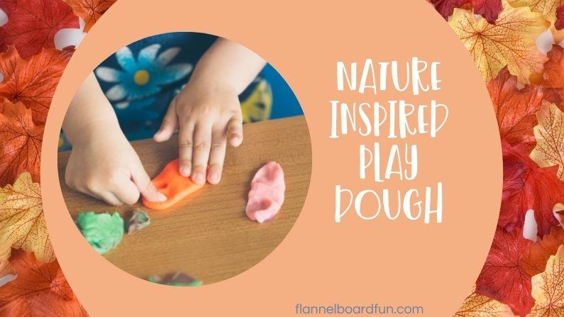 Nature Play Dough for Preschool Kids