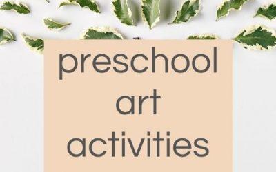 Preschool Nature Art Activities